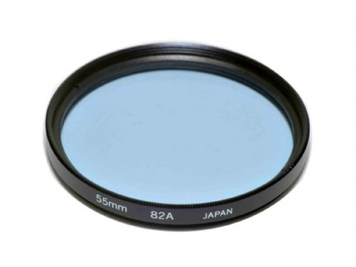 High Quality Optical Glass 82A Filter Made in Japan 55mm Kood